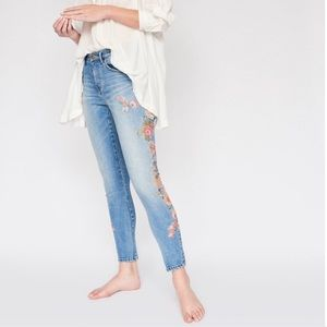 One Teaspoon x FP | Embroidered Scallywag Jeans 28